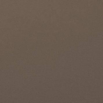 Coton uni couleur taupe