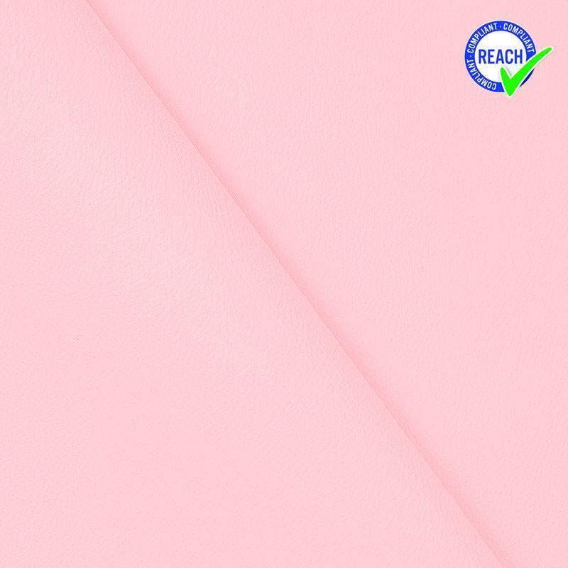 Simili cuir rose dragée