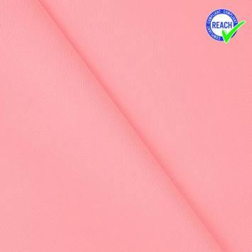 Simili cuir rose clair