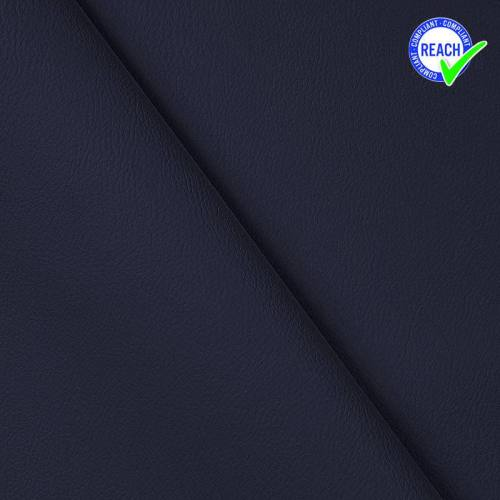 Simili cuir bleu marine