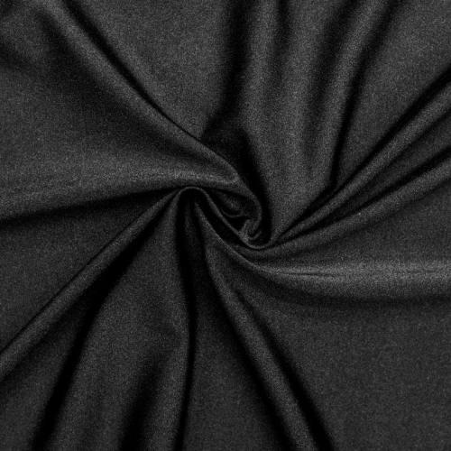 Lycra maillot de bain noir scintillant
