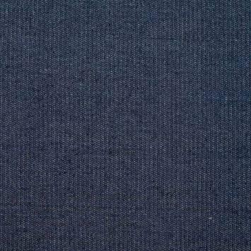 Tissu jean brut bleu jean