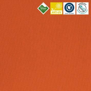 coupon - Coupon 90cm - Toile extérieure Téflon grande largeur orange