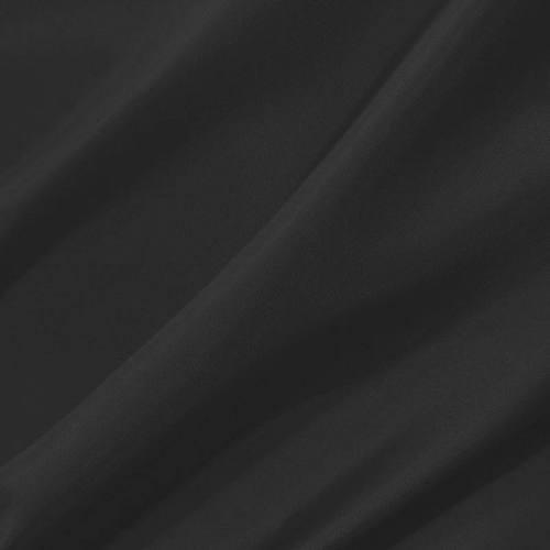 Doublure en pongé antistatique noire