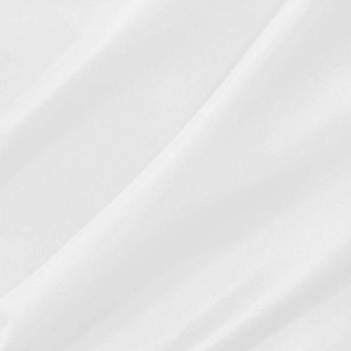 Doublure en pongé antistatique blanche
