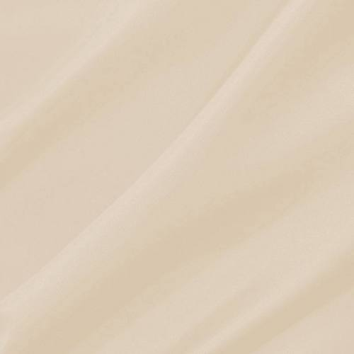Doublure en pongé antistatique argile blanche
