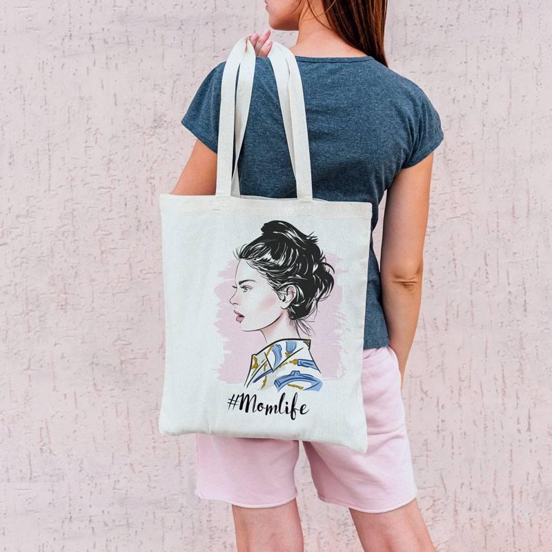 Coupon 45X45 cm toile coton canvas aquarelle femme