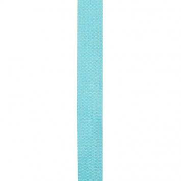 Sangle paillette turquoise 30 mm