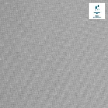 Tissu imperméable uni gris souris