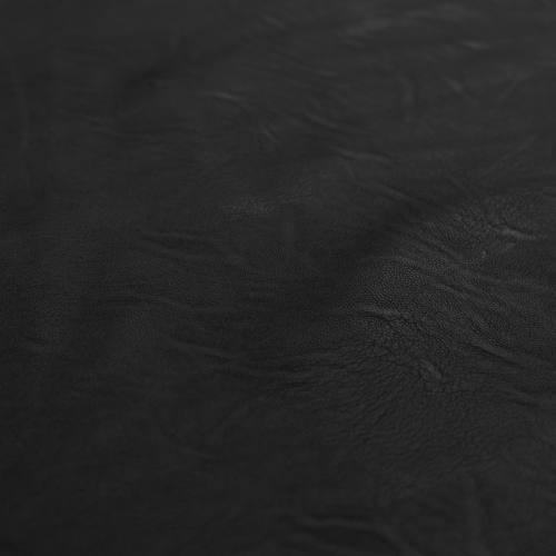 Simili cuir d'habillement extensible noir