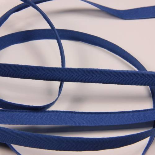 Ruban sergé bleu roi 11 mm