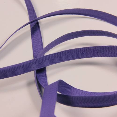 Ruban sergé violet 11 mm