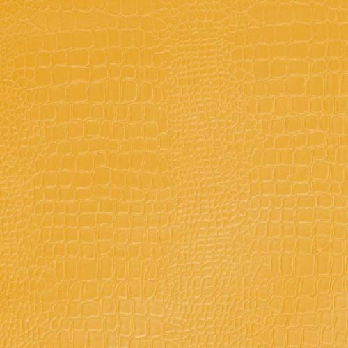Simili cuir croco jaune