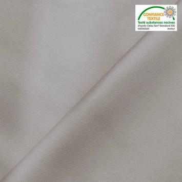 Simili cuir extérieur gris clair