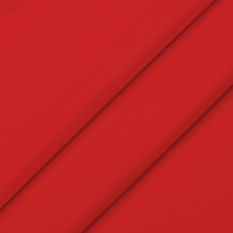 Tissu velours rouge