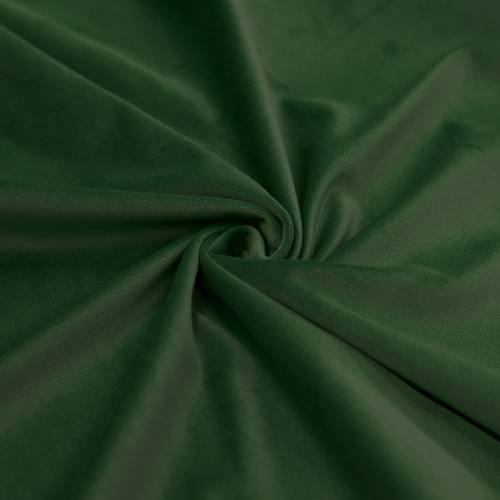 Tissu velours vert sapin