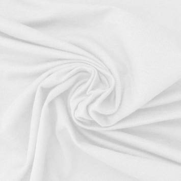 Jersey bambou blanc