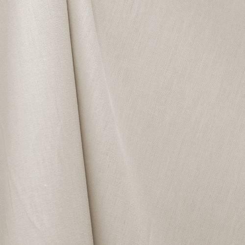 Tissu coton gris perle grande largeur