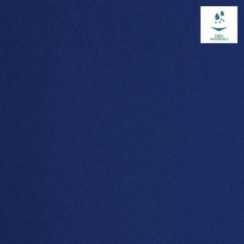 Tissu imperméable bleu foncé