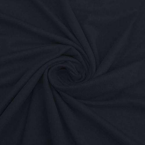 Jersey coton bio bleu marine