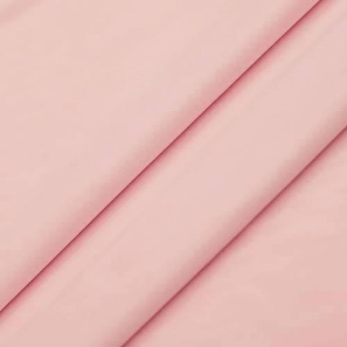 Tissu velours rose dragée