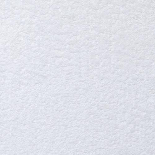 Tissu éponge double face microfibre blanc