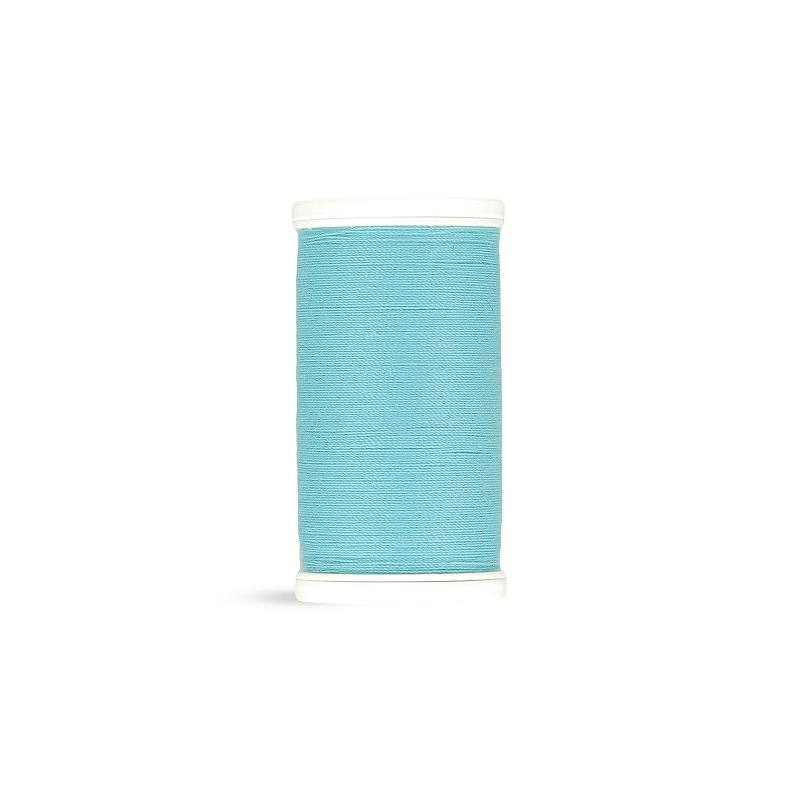 Fil polyester Laser bleu turquoise 2224
