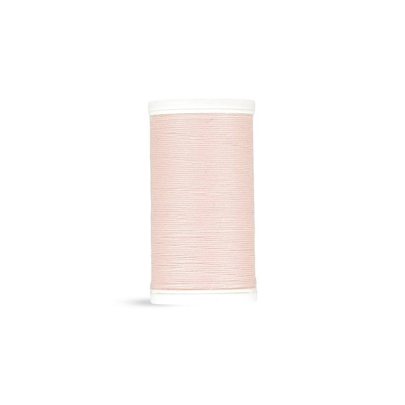 Fil polyester Laser rose clair 2432