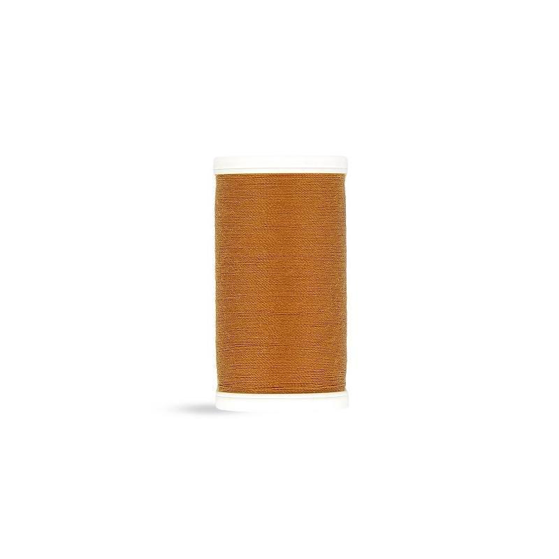 Fil polyester Laser marron cuivré 2846
