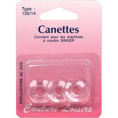 Canettes singer plastique X3