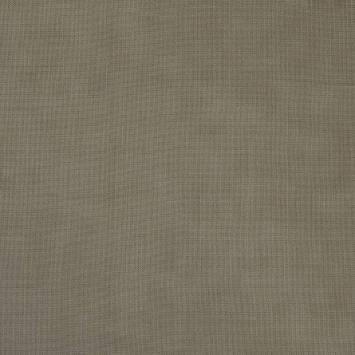 Toile coton demi-natté gris poivre