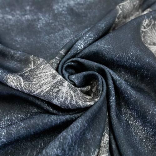 Jersey bleu marine imprimé mer et étoile grise