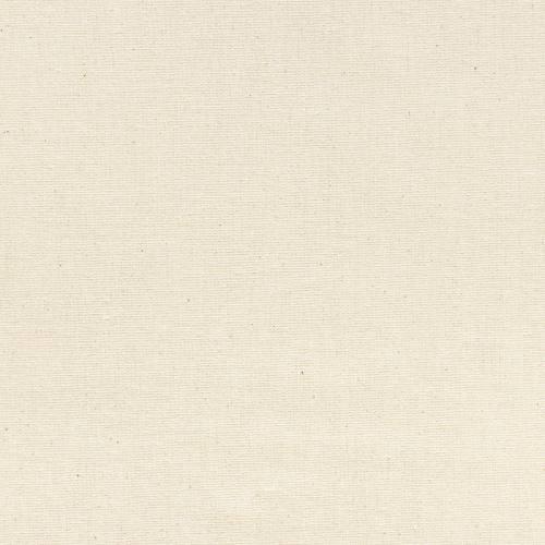 Toile coton demi-natté écru grande largeur