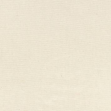 Toile coton demi-natté écru