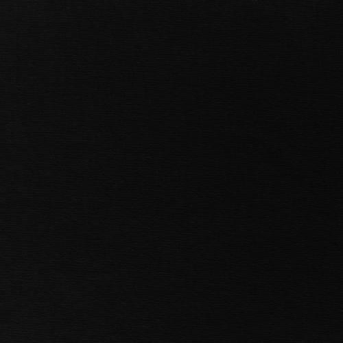 Toile coton demi-natté noire grande largeur
