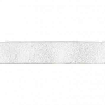 Auto agrippant à coudre velours 38 mm blanc