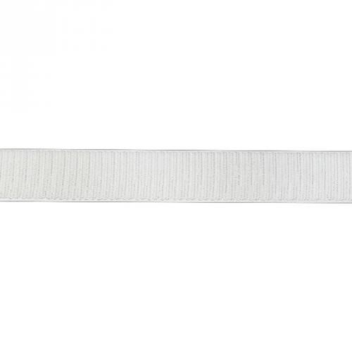 Auto agrippant à coudre crochet 30 mm blanc