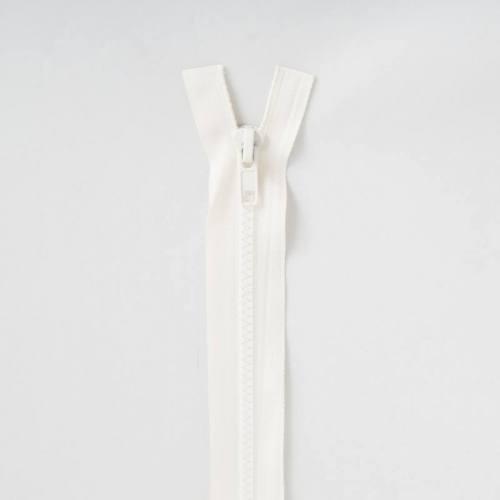 Fermeture injectée crème 35 cm séparable col 801