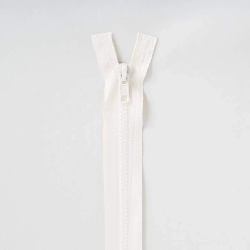 Fermeture injectée crème 40 cm séparable col 801