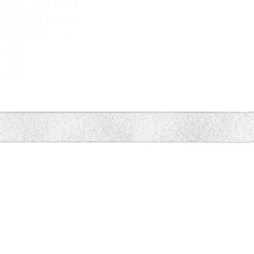 Rouleau 25m Auto-agrippant à coudre velours 20 mm blanc