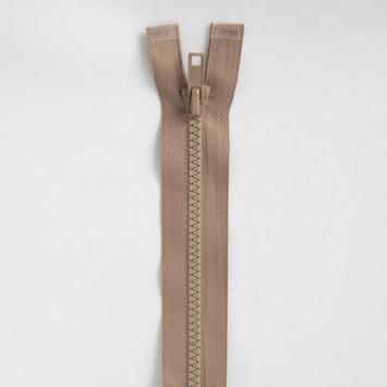 Fermeture injectée beige 45 cm séparable col 894