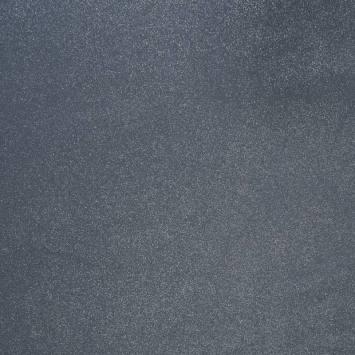 Suédine bleue grise pailletée