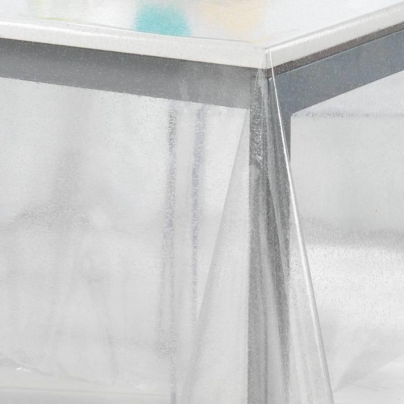 Cristal paillette transparent pour nappes 22/100 ème