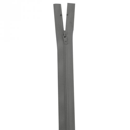 Fermeture grise 40 cm non séparable col 243