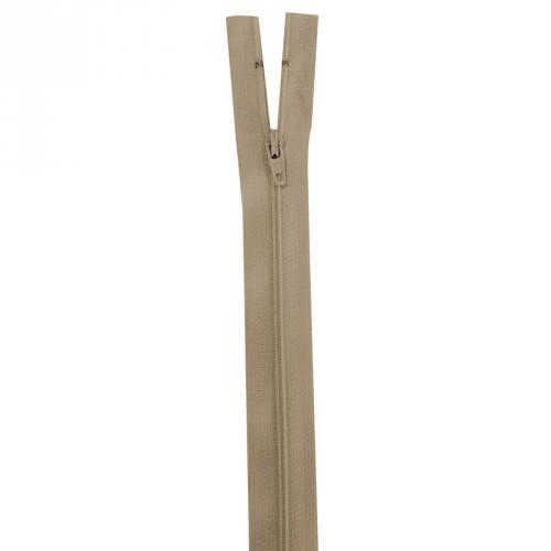 Fermeture beige 50 cm non séparable col 894