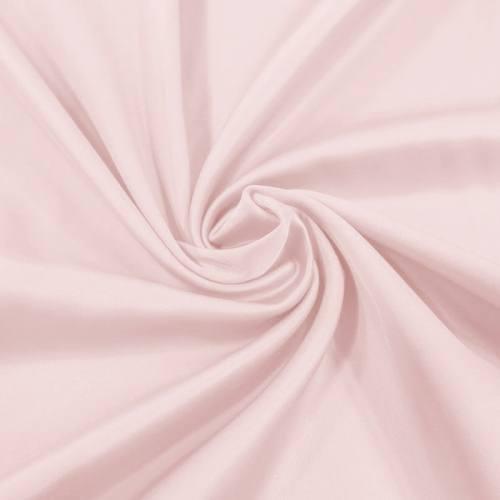 Satin microfibre supérieur extensible rose poudré