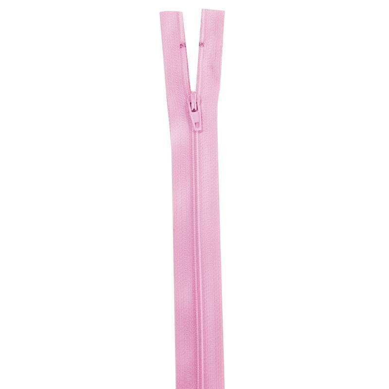Fermeture rose 50 cm non séparable col 207