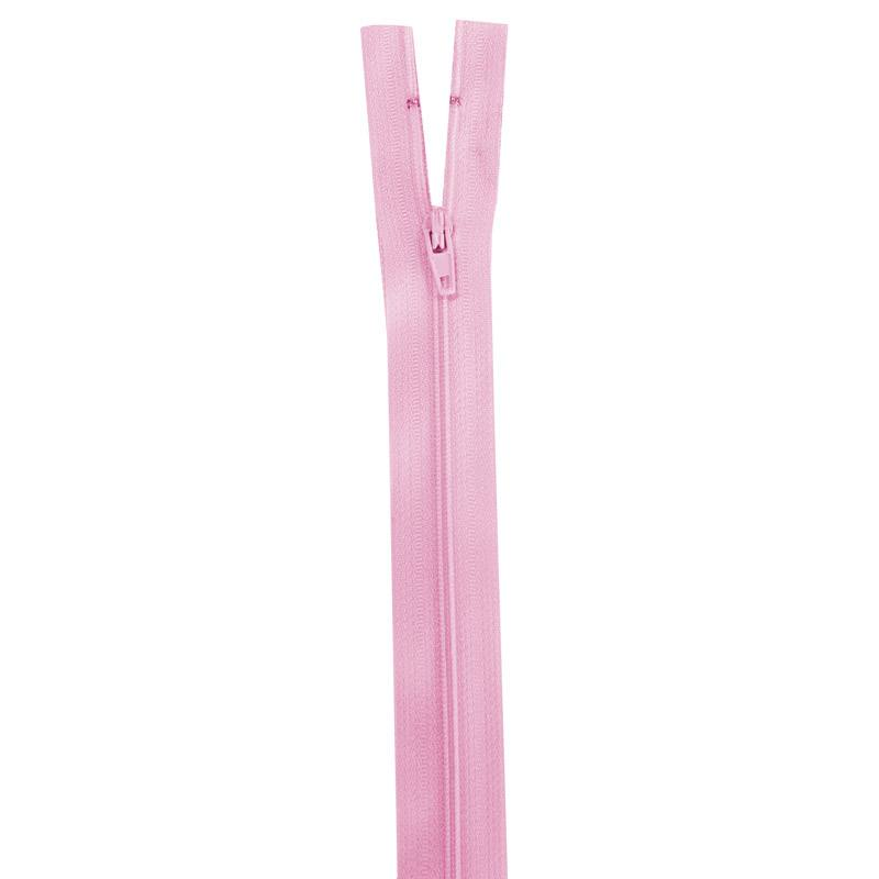 Fermeture rose 20 cm non séparable col 207