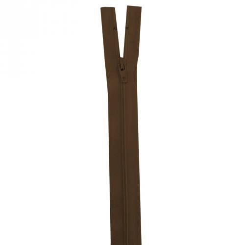 Fermeture marron 35 cm non séparable col 568