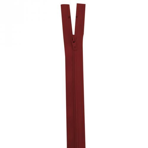 Fermeture rouge foncé 25 cm non séparable col 059